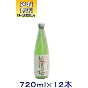 [清酒・日本酒]送料無料※12本セット 越後桜 大吟醸 720ml 12本(720ml)越後桜酒造|sakemakino