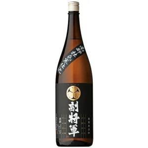 [清酒・日本酒]9本まで同梱可 南部杜氏寒仕込 副将軍 黒 1.8L瓶 1本(1800ml 1.8L)明利酒類|sakemakino