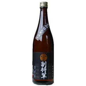 〔清酒・日本酒〕24本まで同梱可 南部杜氏寒仕込 副将軍 黒 720ml 1本|sakemakino