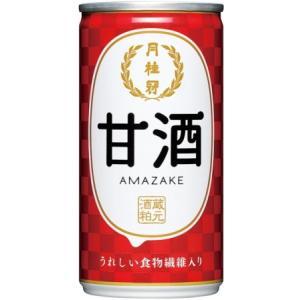 [清酒・日本酒]3ケースまで同梱可☆月桂冠 甘酒 190g 1ケース30本入り(185・ml・缶)(甘酒・あまざけ・甘さけ・)|sakemakino