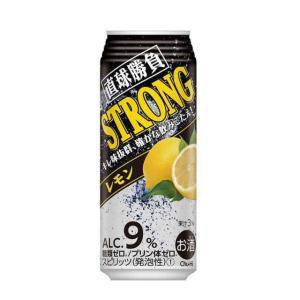 [チューハイ]2ケースまで同梱可 缶チューハイ 直球勝負 ストロングレモン 500缶 1ケース24本入り(500ml)【合同酒精】※ sakemakino