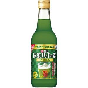 [梅酒・果実酒用]2ケースまで同梱可 寶 極上抹茶ハイの素 宇治抹茶 360ml瓶 1ケース12本入り(360 ml タカラ)宝酒造|sakemakino