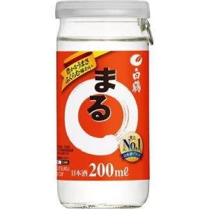 [清酒・日本酒]3ケースまで同梱可 白鶴サケカップまる 200ml 1ケース30本入り(ワンカップ まるカップ CUP カップ型)|sakemakino