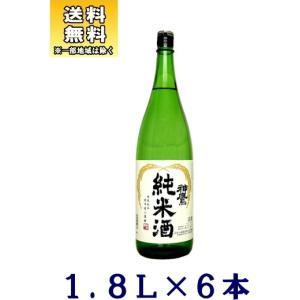 [清酒・日本酒]送料無料※6本セット 神鷹 純米酒 1.8L 6本(1800ml)江井ヶ嶋酒造|sakemakino
