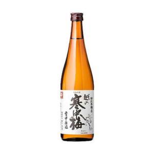 [清酒・日本酒]24本まで同梱可 越の寒中梅 特別本醸造 720ml 1本 新潟銘醸(株)|sakemakino