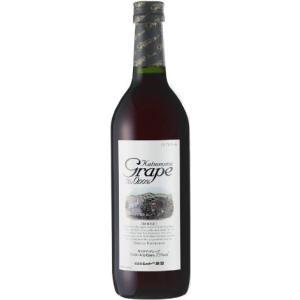[ノンアルコール飲料]ヤフー最安値に挑戦中★24本まで同梱可☆カツヌマグレープ(赤)720ml ノンアルコールワイン(ワインテイスト飲料)|sakemakino