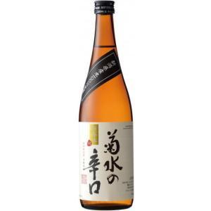 [清酒・日本酒]24本まで同梱可 菊水の辛口 本醸造 720ml瓶 1本(720ml)菊水酒造|sakemakino
