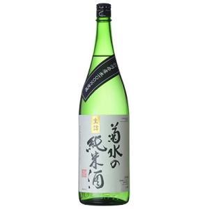 [清酒・日本酒]9本まで同梱可 菊水の純米酒 1.8L 1本  (1800ml)本醸造 菊水酒造|sakemakino
