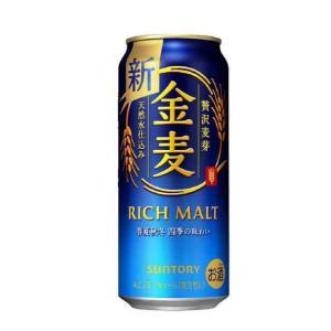 [新ジャンル(雑酒)]2ケースまで同梱可 サントリー 金麦 500缶(500ml) 1ケース24本入※|sakemakino