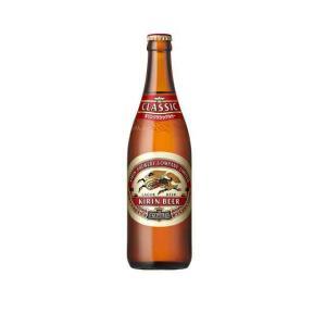 〔ビール〕1ケースで1梱包★キリン クラシックラガー 大瓶(633ml) 1ケース20本入(大びん 大ビン)※|sakemakino