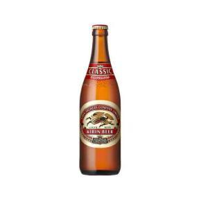 〔ビール〕1ケースで1梱包★キリン クラシックラガー 中瓶(500ml) 1ケース20本入(中びん ...