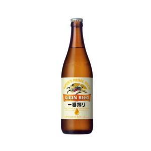 [ビール]1ケースで1梱包 キリン 一番搾り 中瓶(500ml) 1ケース20本入※|sakemakino