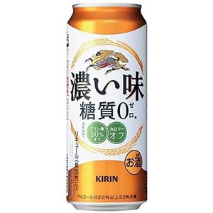 【新ジャンル(雑酒)】2ケースまで同梱可★キリン 濃い味 糖質0 500ml缶 1ケース24本入り(500缶)(糖質ゼロ※|sakemakino