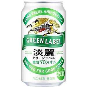 [発泡酒]3ケースまで同梱可 麒麟 淡麗グリーンラベル 350缶(350ml)1ケース24本入(きりん たんれい)※|sakemakino