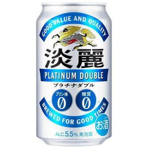 [発泡酒]3ケースまで同梱可★麒麟 淡麗プラチナダブル 350缶(350ml) 1ケース24本入(きりん たんれい)※|sakemakino