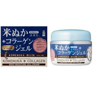 【何個買っても一個口の送料】[化粧品]日本盛 米ぬか美人 コラーゲンジェル 100g 1個(35g オールインワンジェル 無香料)|sakemakino