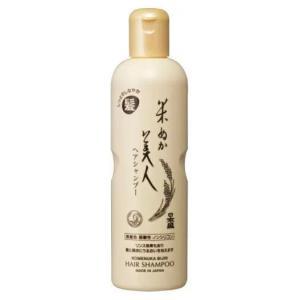 【何個買っても一個口の送料】[化粧品]日本盛 米ぬか美人 ヘアシャンプー 335ml 1個(1本 35g 無着色 弱酸性 ノンシリコン ヘアケア 日本製)|sakemakino