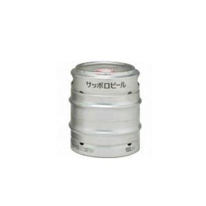 【ビール】2本まで同梱可★サッポロ 黒ラベル 10L樽生 (10リットル) 業務用 ※|sakemakino