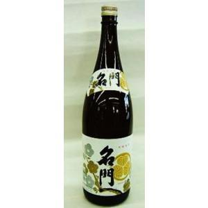 〔清酒・日本酒〕9本まで同梱可 名門 15% 1800ml瓶 1本 (1800ml 1.8L)ビン 明利酒類|sakemakino