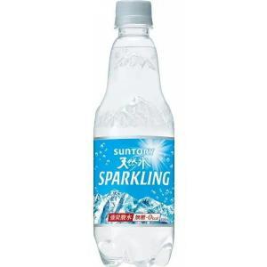 〔飲料〕2ケースまで同梱可 サントリー 南アルプススパークリング500PET 1ケース24本入り SUNTORY(サントリー天然水)(強炭酸水)|sakemakino