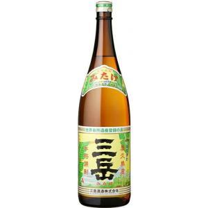 [芋焼酎]9本まで同梱可 25度 三岳 1.8L 1本(1800ml 本格焼酎 みたけ)三岳酒造 sakemakino