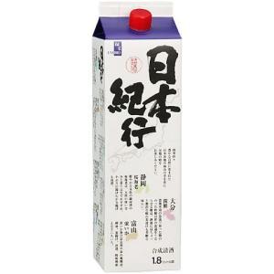 [合成清酒・合成酒]12本まで同梱可 日本紀行 1.8Lパック 1本 (1800ml)|sakemakino