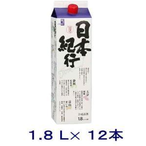 [合成清酒・合成酒]送料無料※12本セット 日本紀行 1800mlパック 12本(2ケースセット)(6本+6本)(1800ml)|sakemakino