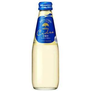 [スパークリングワイン]2ケースまで同梱可 アサヒ ニッカ シードル・ドライ 200ml瓶 1ケース24本入り(200ml NIKKA りんご やや辛口) sakemakino