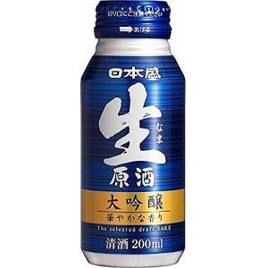〔清酒・日本酒〕★送料無料★※日本盛 大吟醸 生原酒 200mlボトル缶 1ケース30本入り|sakemakino