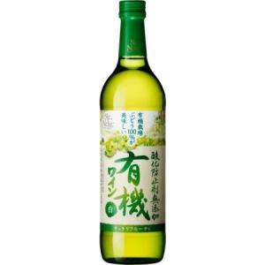 [ワイン]24本まで同梱可 サントネージュ 酸化防止剤 無添加有機ワイン(白)720ml 1本(国産) sakemakino