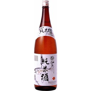 [清酒・日本酒]9本まで同梱可 酔仙 純米酒 1800ml 1本 (1.8L) 酔仙酒造|sakemakino