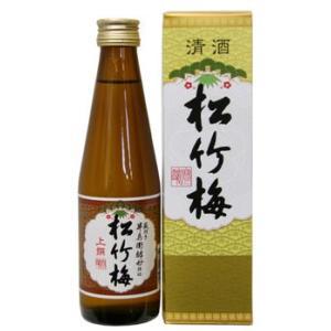〔清酒・日本酒〕60本まで同梱可☆上撰 松竹梅 300ml瓶 【箱付き】