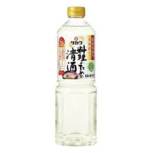 [清酒・日本酒]24本まで同梱可 タカラ 料理のための清酒 1Lペット 1本(料理酒)(1000ml)(PET)(宝)宝酒造|sakemakino