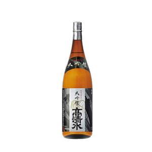 [清酒・日本酒]9本まで同梱可 高清水 大吟醸 1.8L 1本 (1800ml) 秋田酒類|sakemakino