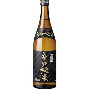 [清酒・日本酒]24本まで同梱可 高清水 辛口純米 720ml 1本 秋田酒類製造(株)|sakemakino