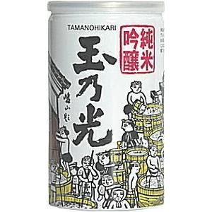 [清酒・日本酒]3ケースまで同梱可 玉乃光 純米吟醸 アルミ缶 180ml 1ケース30本入り 玉乃光酒造|sakemakino