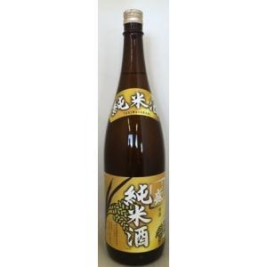 〔清酒・日本酒〕9本まで同梱可 ときわ盛 純米酒 14% 1800ml 1本 (1.8L) 明利酒類|sakemakino