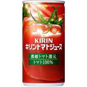 [飲料]3ケースまで同梱可 キリン トマトジュース 濃縮トマト還元 190g缶 1ケース30本入り(とまと 190ml 185)KIRIN|sakemakino