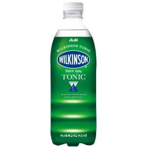 [飲料]2ケースまで同梱可 ウィルキンソン トニック 500mlPET 1ケース24本入り(500ml 炭酸水 スパークリング)アサヒ飲料 sakemakino