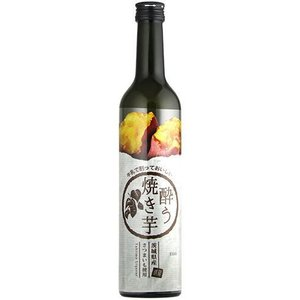 [リキュール]24本まで同梱可 焼き芋リキュール 酔う焼き芋 500ml瓶 1本(500ml 20度 焼きいも メイリ めいり)明利酒造|sakemakino