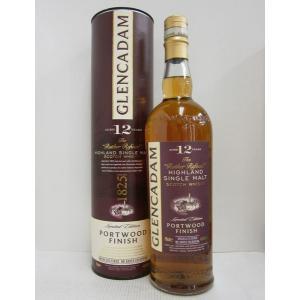 グレンカダム12年ポートウッドF 46%700ml ウイスキー|sakenochawanya