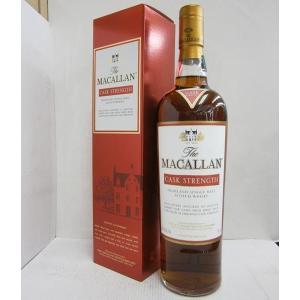 マッカラン カスクストレングス 正規 60.1% 750ml 箱あり ウイスキー|sakenochawanya