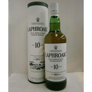 ラフロイグ10年 正規 43% 750ml LAPHROAIG  ウイスキー|sakenochawanya