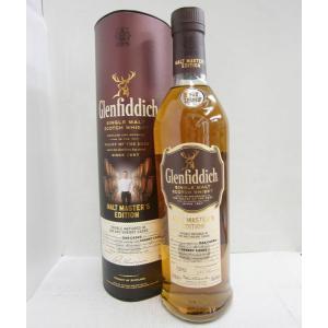 グレンフィディック モルトマスターエディション 並行 43% 700ml シングルモルトスコッチウイスキー|sakenochawanya