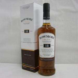 ボウモア18年 正規 43% 700ml シングルモルトスコッチウイスキー|sakenochawanya