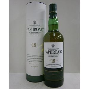 ラフロイグ18年 並行 48% 700ml シングルモルトスコッチウイスキー|sakenochawanya