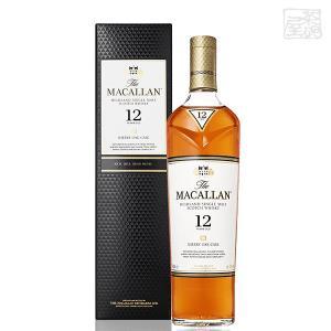 マッカラン12年 シェリーオーク 正規 40% 700ml シングルモルトスコッチウイスキー|sakenochawanya