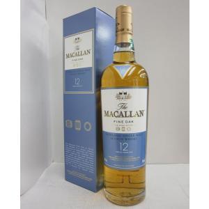 マッカラン12年ファインオーク正規 40% 700ml  ウイスキー|sakenochawanya