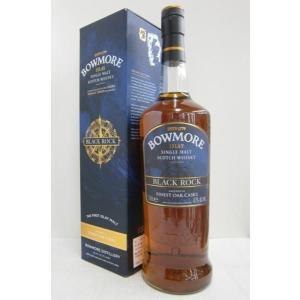 ボウモア ブラックロック 並行 40% 1000ml シングルモルトウイスキー|sakenochawanya