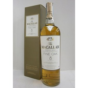 マッカラン 8年ファインオーク 並行 40% 700ml  ウイスキー|sakenochawanya